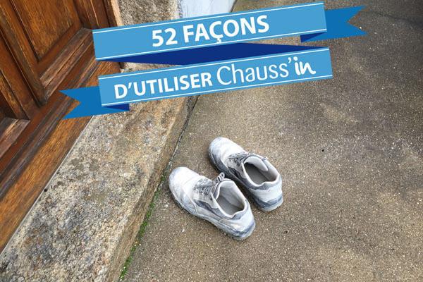 Plus besoin de laisser ses chaussures devant la porte avec Chauss'in