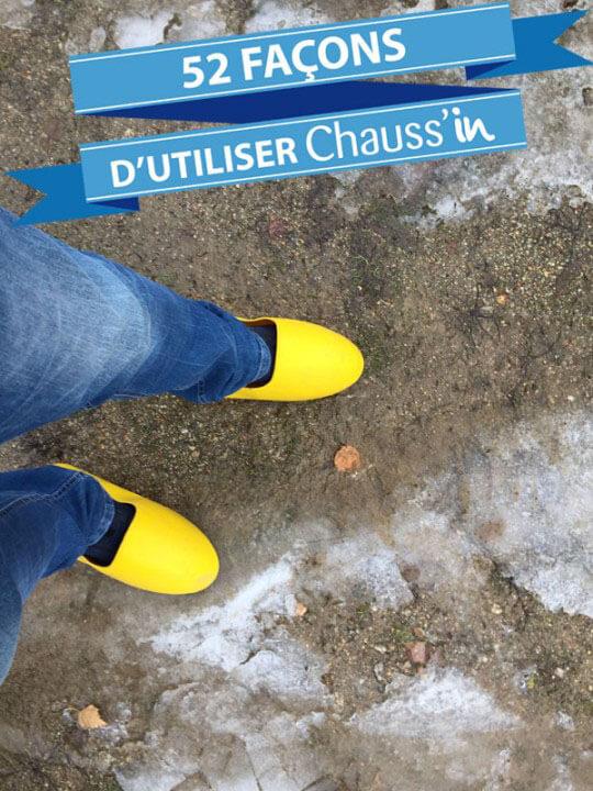 Chauss'in évolution le garde-boue de vos chaussures