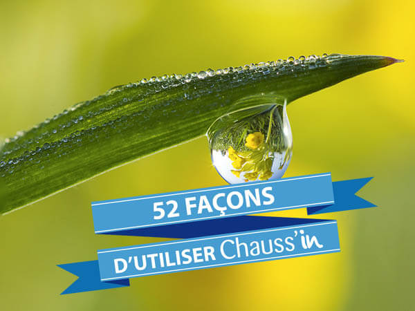 52 façons Chauss'in